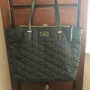Kate Spade Talya Quilted Nylon Shoulder Tote Bag